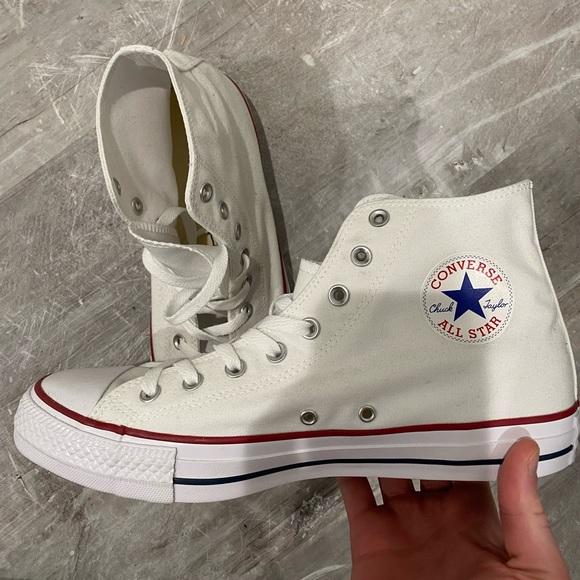 New white Converse. No box. Men's 11 women's 13.